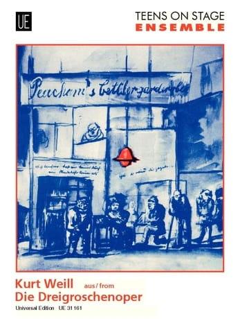 Dreigroschenoper -Ensemble - WEILL - Partition - laflutedepan.com