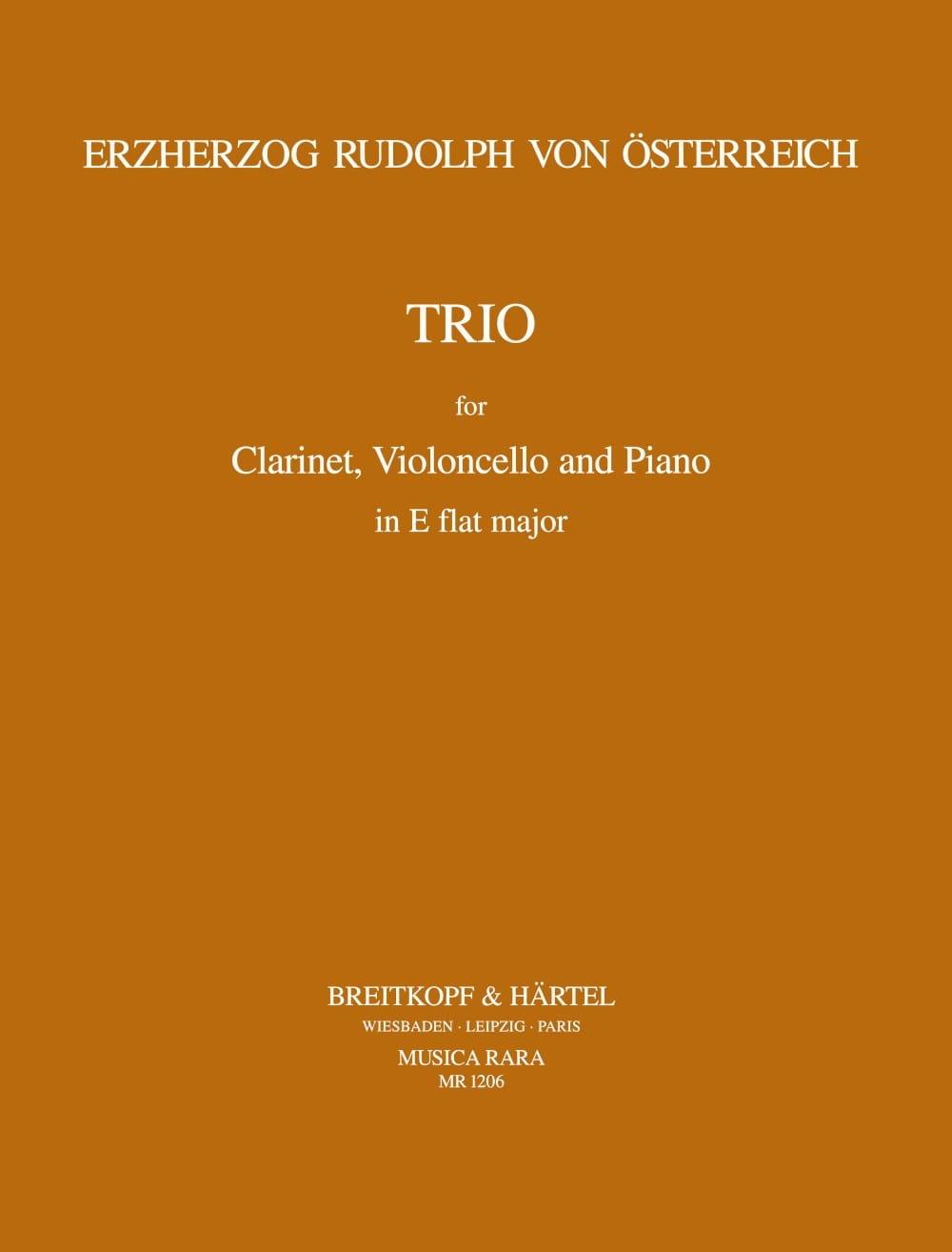 Trio in E-flat major -Clarinet cello piano - laflutedepan.com