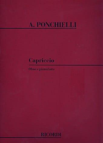Capriccio - Amilcare Ponchielli - Partition - laflutedepan.com