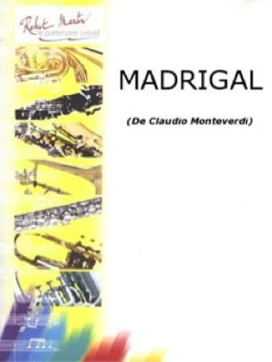 Madrigal - Denise Roger - Partition - Clarinette - laflutedepan.com