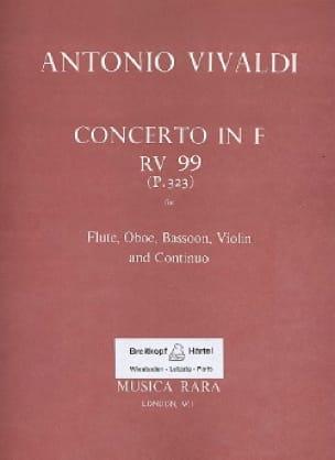 Concerto in F major RV 99 P. 323 - Flute oboe bassoon violin Bc - laflutedepan.com
