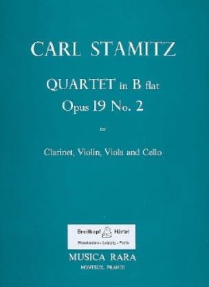 Quartet B flat maj. op. 19 n° 2 -Clarinet violin viola cello - laflutedepan.com