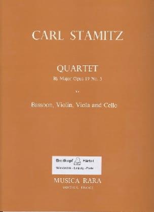 Quartet Bb major op. 19 n° 5 -Bassoon violin viola cello - laflutedepan.com