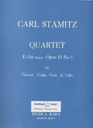 Quartet E flat maj. op. 19 n° 1 -Clarinet violin viola cello - laflutedepan.com