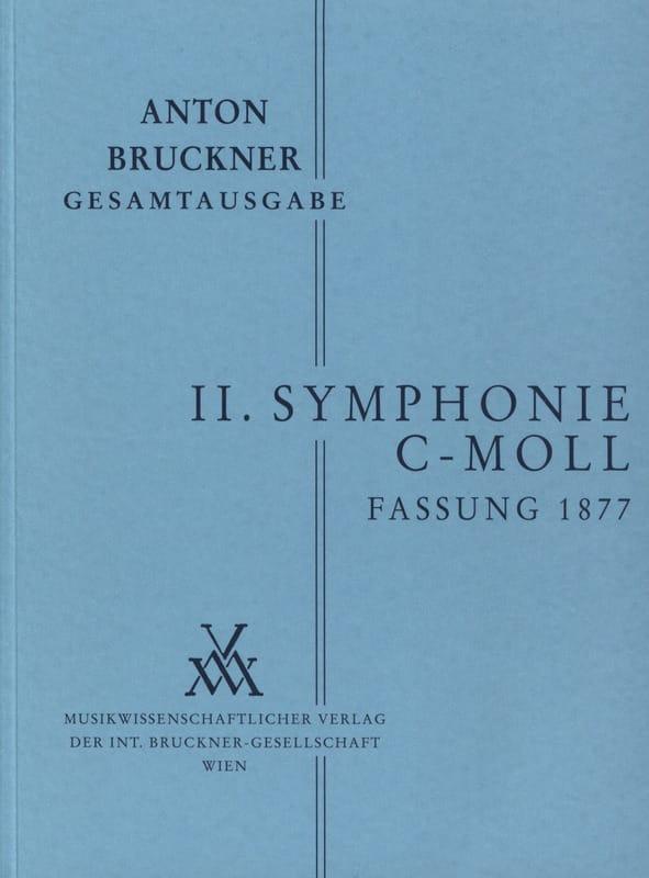 Symphonie Nr. 2 c-moll 2. Fassung 1877 - [Bd. 2/2] - laflutedepan.com