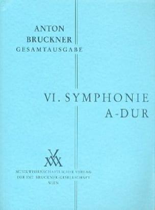 Symphonie Nr. 6 A-Dur -Studienpartitur - BRUCKNER - laflutedepan.com