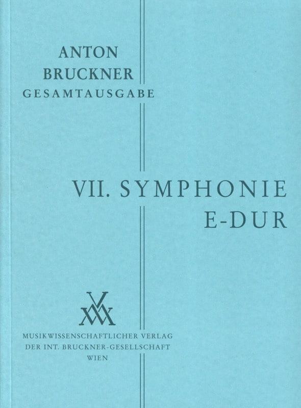 Anton Bruckner - Symphony Nr. 7 E-Dur 1883 - Partition - di-arezzo.co.uk