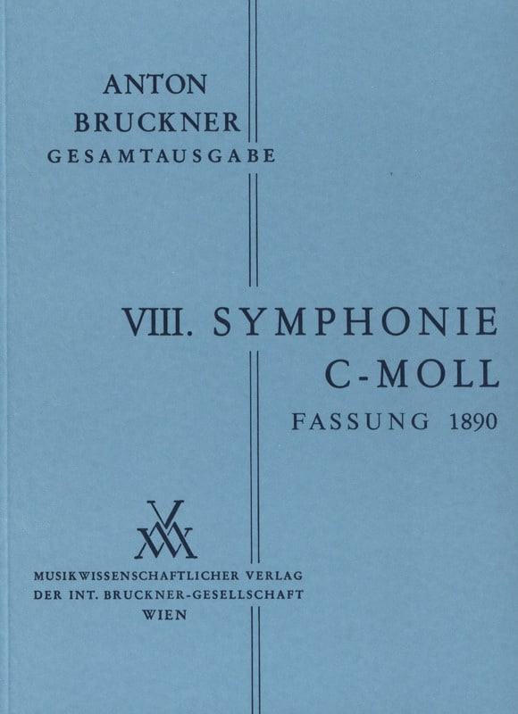 Anton Bruckner - Symphony No. 8 C-Moll 2. Fassung 1890 - Partition - di-arezzo.co.uk