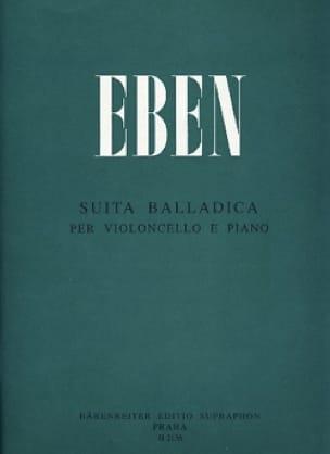 Suita Balladica - Petr Eben - Partition - laflutedepan.com