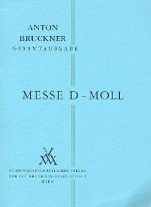 Messe d-moll - BRUCKNER - Partition - Petit format - laflutedepan.com