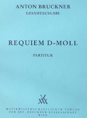 Anton Bruckner - Requiem d-moll - Partition - di-arezzo.fr