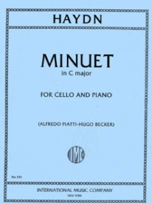 HAYDN - Minuet - Partition - di-arezzo.co.uk