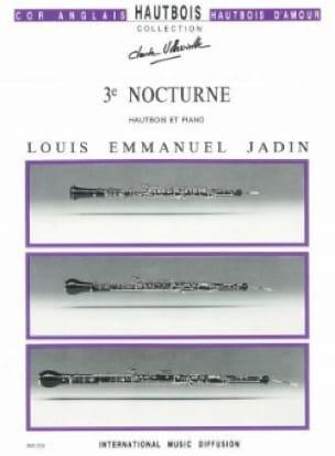3ème Nocturne - Louis Emmanuel Jadin - Partition - laflutedepan.com