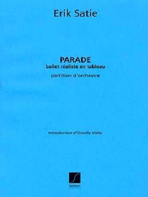 Parade - SATIE - Partition - Grand format - laflutedepan.com