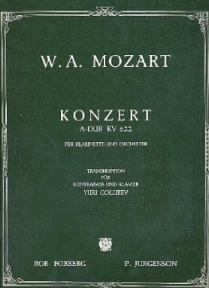 MOZART - Konzert A-Hard KV 622 - Partition - di-arezzo.co.uk