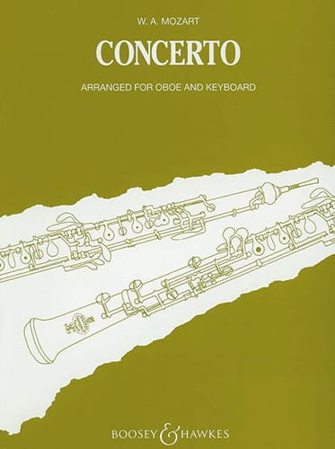 MOZART - Concerto KV 314 - Oboe piano - Partition - di-arezzo.co.uk