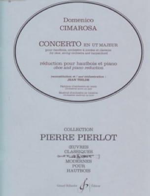 Concerto en Ut Majeur pour Hautbois - CIMAROSA - laflutedepan.com