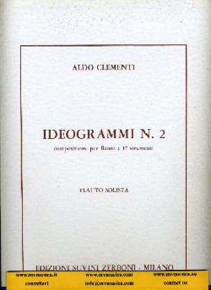 Ideogrammi n° 2 - Partitura - Aldo Clementi - laflutedepan.com