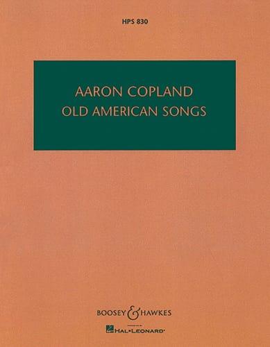 Old American Songs - Partitur - COPLAND - Partition - laflutedepan.com