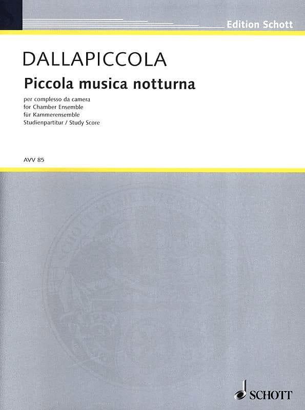 Piccola musica notturna Version de chambre - Partitur - laflutedepan.com