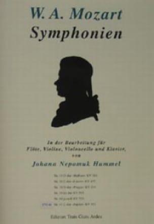 Symphonie Nr. 38 D-Dur Prager KV 504 - Flöte Violine Cello Klavier - laflutedepan.com