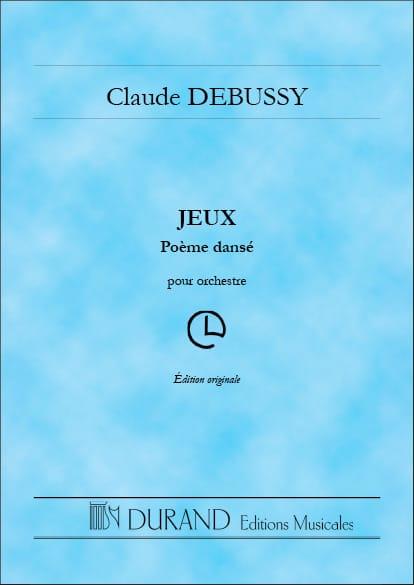 DEBUSSY - Games - Partition - di-arezzo.com