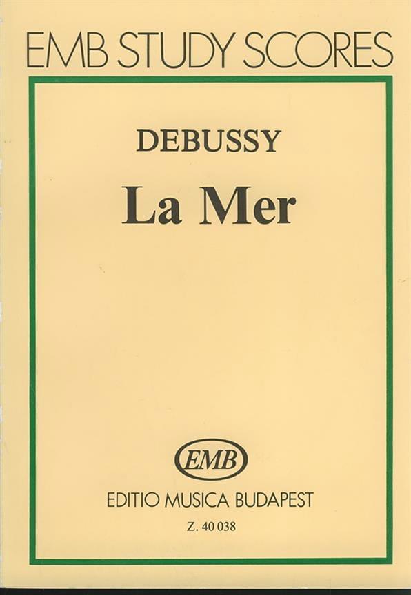 DEBUSSY - The Sea - Partitur - Partition - di-arezzo.co.uk