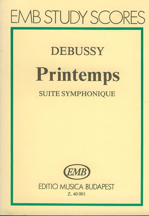 DEBUSSY - Spring - Partitur - Partition - di-arezzo.co.uk
