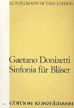 Gaetano Donizetti - Sinfonia für Bläser - Partitur - Partition - di-arezzo.co.uk