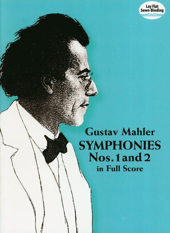 Gustav Mahler - Symphony No. 1 and 2 - Full Score - Partition - di-arezzo.co.uk