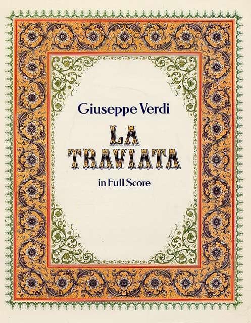 VERDI - La Traviata - Partition - di-arezzo.co.uk