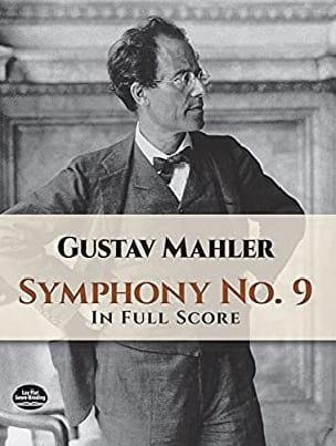 Gustav Mahler - Symphony N ° 9 - Full Score - Partition - di-arezzo.co.uk