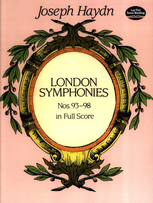 HAYDN - London Symphonies N ° 93 to 98 - Full Score - Partition - di-arezzo.co.uk