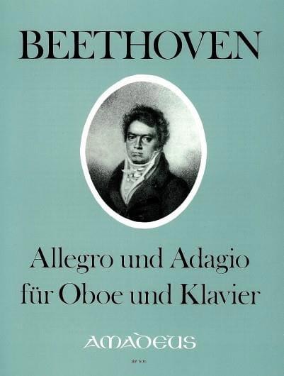 BEETHOVEN - Allegro und Adagio - Oboe Klavier - Partition - di-arezzo.com