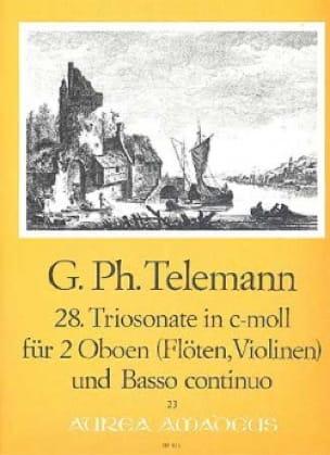 Triosonate Nr. 28 c-moll -2 Oboen und BC - laflutedepan.com