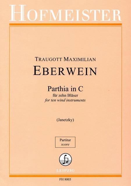 Parthia in C - Bläser - laflutedepan.com