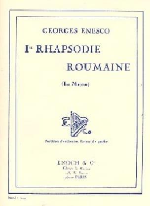 Rhapsodie roumaine n° 1 - ENESCO - Partition - laflutedepan.com