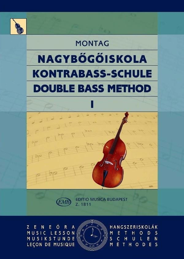 Méthode de contrebasse, Volume 1 - Lajos Montag - laflutedepan.com