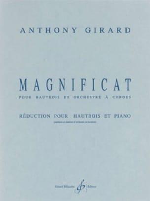 Magnificat - Anthony Girard - Partition - Hautbois - laflutedepan.com