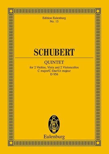 Quintett C-Dur, op. 163 D 956 C-Dur - SCHUBERT - laflutedepan.com