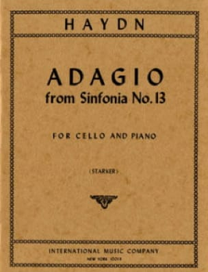 Adagio from Sinfonia n° 13 - HAYDN - Partition - laflutedepan.com