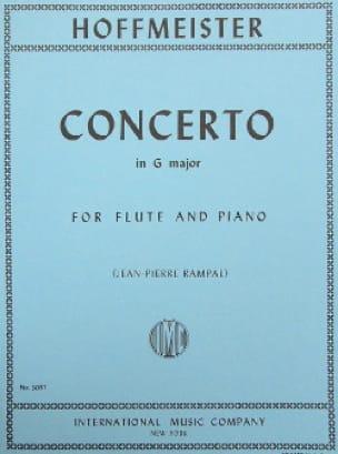 Concerto in G major - Flute piano - HOFFMEISTER - laflutedepan.com