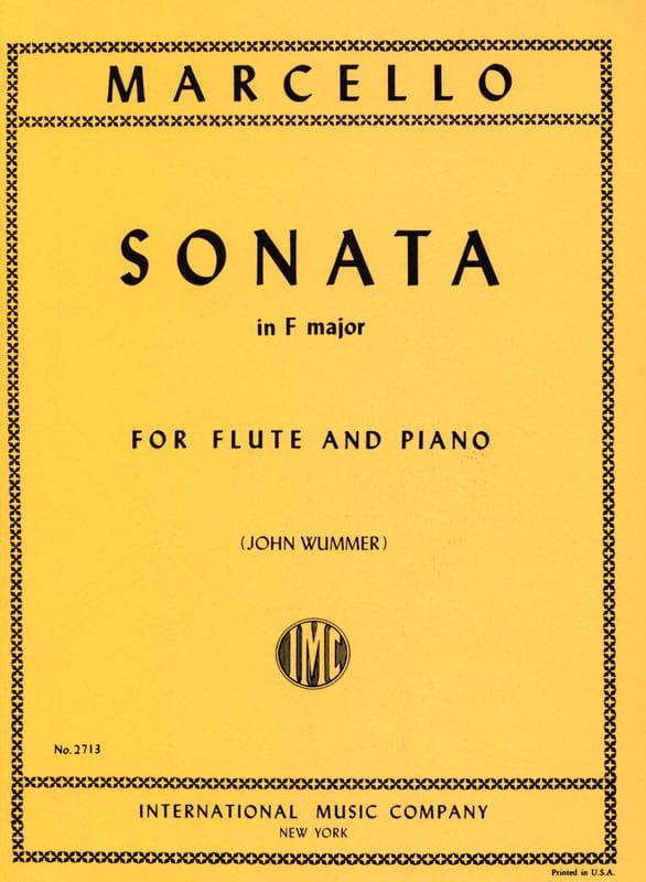 Benedetto Marcello - Sonata in fa maggiore - Piano flauto - Partition - di-arezzo.it