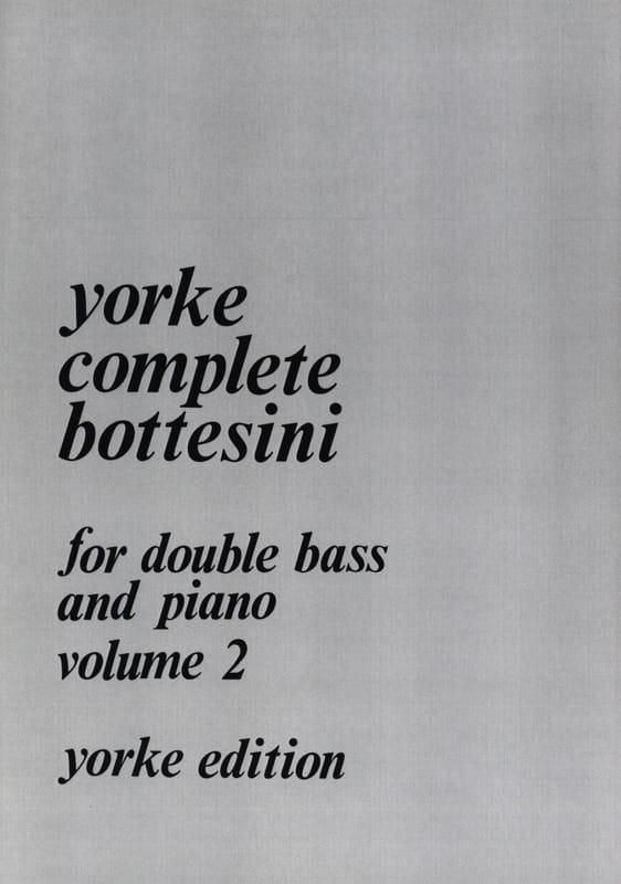 Giovanni Bottesini - Complete Bottesini Volume 2 - Partition - di-arezzo.co.uk
