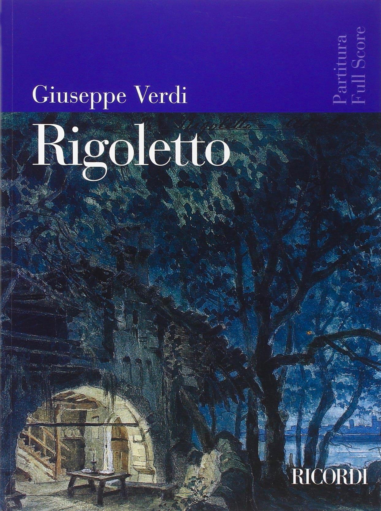 VERDI - Rigoletto new edition - Partitura - Partition - di-arezzo.co.uk