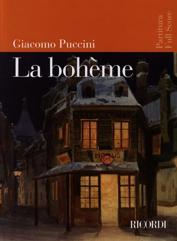 Giacomo Puccini - The Bohemian New Edition - Partition - di-arezzo.co.uk