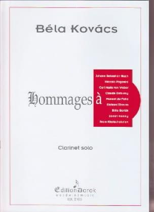 Hommages à ... - Bela Kovacs - Partition - laflutedepan.com