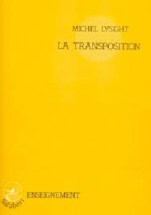 La Transposition - Michel Lysight - Partition - laflutedepan.com