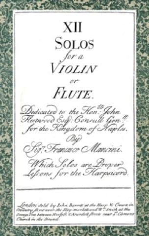 12 Solos for a violin or flute ... - laflutedepan.com