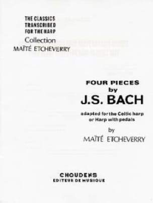 BACH - 4 Pieces of Bach adapted for Celtic harp - Partition - di-arezzo.co.uk